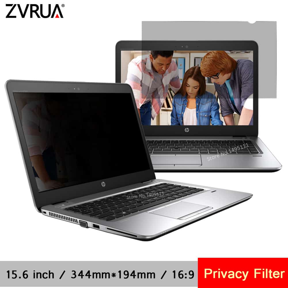 huge selection of 6ef00 07a6f 15.6 Inch Privacy Filter For 16:9 Laptop Notebook Anti-Glare Screen  Protector Protective Film