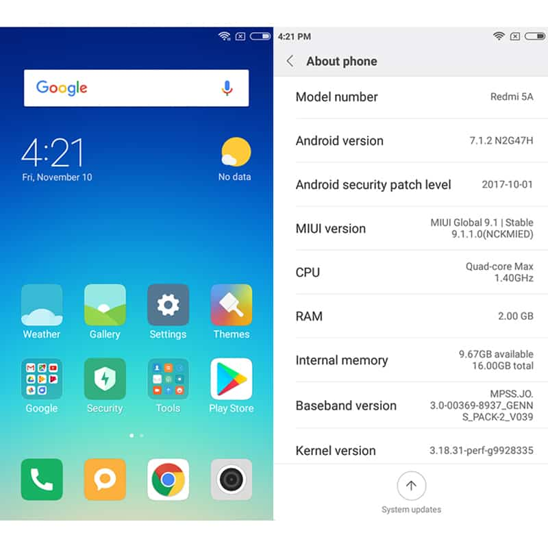 Global Version Xiaomi Redmi 5A Snapdragon 425 Quad Core 13MP Camera