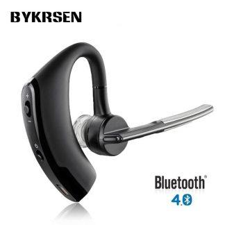 Hands Free Wireless Stereo V4 0 Bluetooth Business Headphones Phone Bluetooth Headset Car Driver Handsfree Earphone Kanga Supply