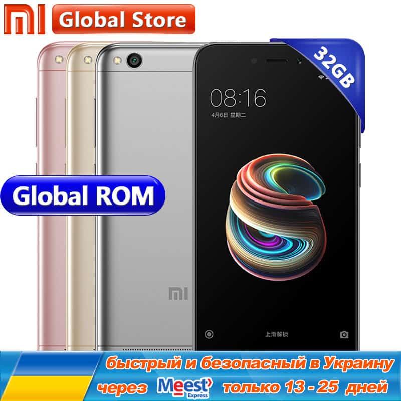 Xiaomi Redmi 5A 32GB ROM Snapdragon Quad Core Mobile Phone 3GB RAM