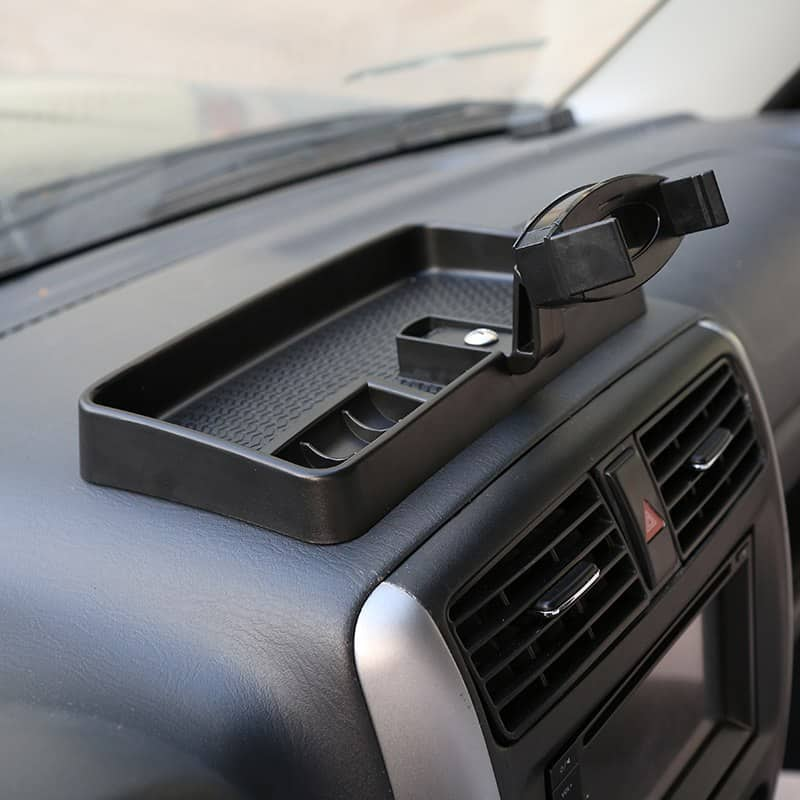 Mopai Abs Black Car Interior Accessories Mobile Phone Holder And